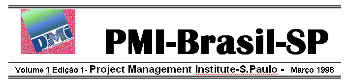 1a. News Letter do PMI®-SP, 1998